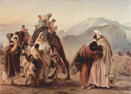 meeting-of-jacob-and-esau-1844-francesco-hayez
